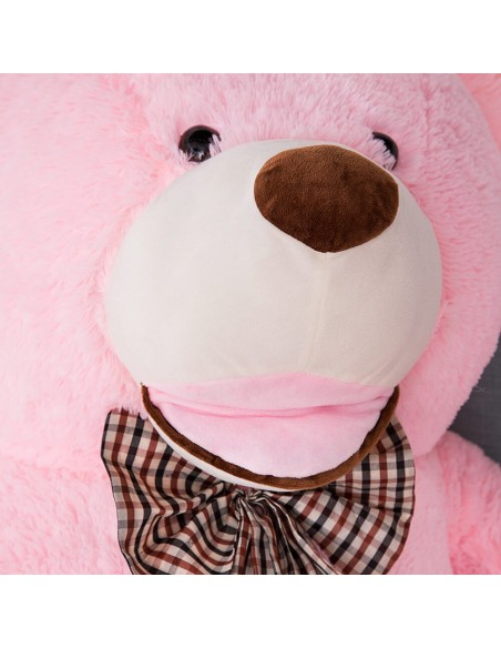 Pink Giant Teddy Bear 130 CM – 51 Inch – BoBo Giant Teddy Bears - Big Teddy Bears - Huge Stuffed Bears - Teddyway