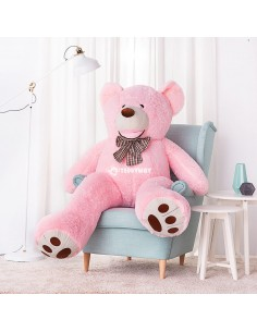 Pink Giant Teddy Bear 160 CM – 63 Inch – BoBo Giant Teddy Bears - Big Teddy Bears - Huge Stuffed Bears