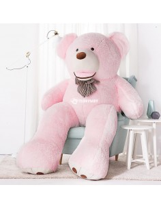 Pink Giant Teddy Bear 200 CM – 78 Inch – BoBo Giant Teddy Bears - Big Teddy Bears - Huge Stuffed Bears