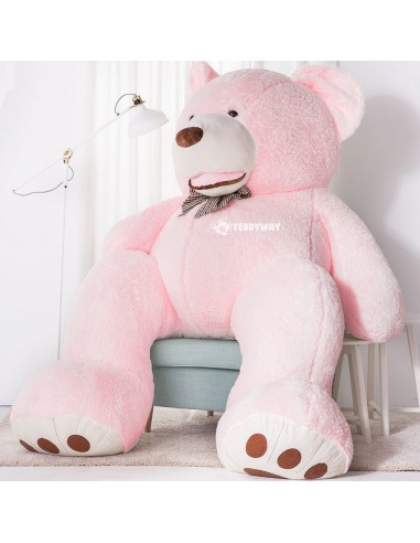 Pink Giant Teddy Bear 260 CM – 102 Inch – BoBo Giant Teddy Bears - Big Teddy Bears - Huge Stuffed Bears - Teddyway