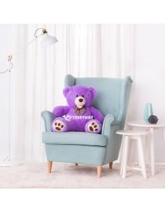 Purple Giant Teddy Bear 100 CM – 39 Inch – BoBo Giant Teddy Bears - Big Teddy Bears - Huge Stuffed Bears