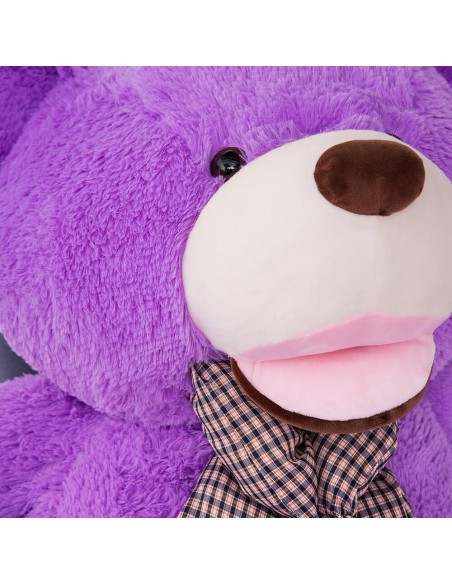 Purple Giant Teddy Bear 160 CM – 63 Inch – BoBo Giant Teddy Bears - Big Teddy Bears - Huge Stuffed Bears - Teddyway