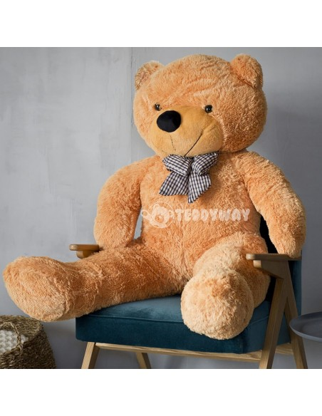Brown Giant Teddy Bear 130 CM – 51 Inch – PoPo Giant Teddy Bears - Big Teddy Bears - Huge Stuffed Bears