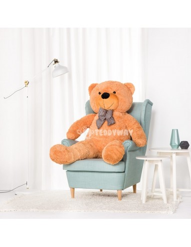 Brown Giant Teddy Bear 160 CM – 63 Inch – PoPo Giant Teddy Bears - Big Teddy Bears - Huge Stuffed Bears