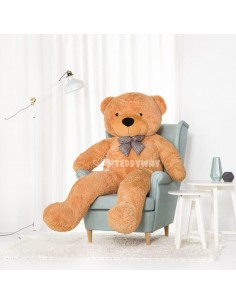 Brown Giant Teddy Bear 200 CM – 78 Inch – PoPo Giant Teddy Bears - Big Teddy Bears - Huge Stuffed Bears