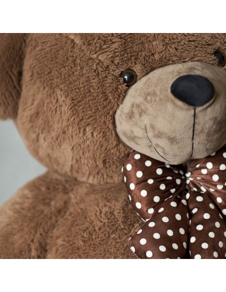 Dark Brown Giant Teddy Bear 200 CM – 78 Inch – NoMo Giant Teddy Bears - Big Teddy Bears - Huge Stuffed Bears