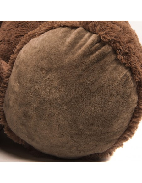 Dark Brown Giant Teddy Bear 220 CM – 86 Inch – NoMo Giant Teddy Bears - Big Teddy Bears - Huge Stuffed Bears - Teddyway