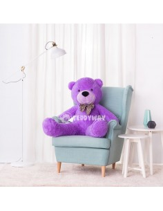 Purple Giant Teddy Bear 130 CM – 51 Inch – PoPo Giant Teddy Bears - Big Teddy Bears - Huge Stuffed Bears