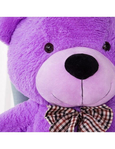 Purple Giant Teddy Bear 160 CM – 63 Inch – PoPo Giant Teddy Bears - Big Teddy Bears - Huge Stuffed Bears