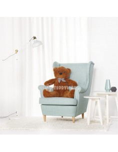 Dark Brown Giant Teddy Bear 100 CM – 39 Inch – PoPo Giant Teddy Bears - Big Teddy Bears - Huge Stuffed Bears