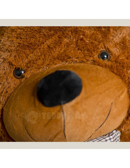 Dark Brown Giant Teddy Bear 130 CM – 51 Inch – PoPo Giant Teddy Bears - Big Teddy Bears - Huge Stuffed Bears