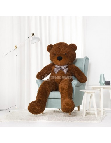 Dark Brown Giant Teddy Bear 200 CM – 78 Inch – PoPo Giant Teddy Bears - Big Teddy Bears - Huge Stuffed Bears - Teddyway