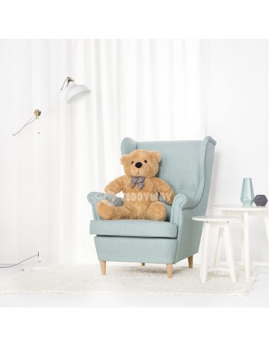 Light Beige Giant Teddy Bear 100 CM – 39 Inch – PoPo Giant Teddy Bears - Big Teddy Bears - Huge Stuffed Bears - Teddyway