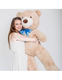 Light Beige Giant Teddy Bear 130 CM – 51 Inch – BoBo Giant Teddy Bears - Big Teddy Bears - Huge Stuffed Bears