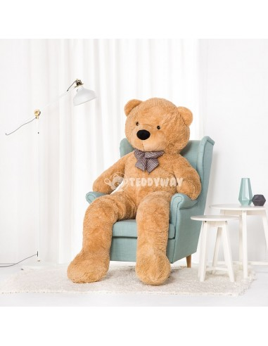 Light Beige Giant Teddy Bear 200 CM – 78 Inch – PoPo Giant Teddy Bears - Big Teddy Bears - Huge Stuffed Bears - Teddyway
