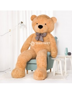 Light Beige Giant Teddy Bear 260 CM – 102 Inch – PoPo Giant Teddy Bears - Big Teddy Bears - Huge Stuffed Bears
