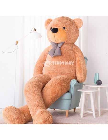 Light Beige Giant Teddy Bear 300 CM – 118 Inch – PoPo Giant Teddy Bears - Big Teddy Bears - Huge Stuffed Bears