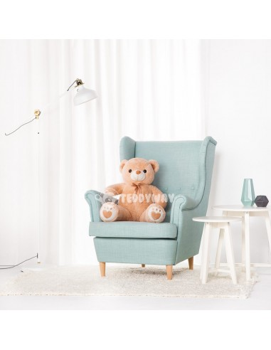 Light Beige Giant Teddy Bear 100 CM – 39 Inch – ToTo Giant Teddy Bears - Big Teddy Bears - Huge Stuffed Bears