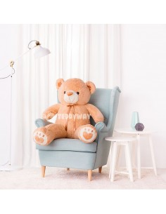 Light Beige Giant Teddy Bear 130 CM – 51 Inch – ToTo Giant Teddy Bears - Big Teddy Bears - Huge Stuffed Bears