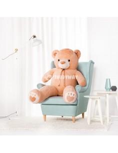 Light Beige Giant Teddy Bear 160 CM – 63 Inch – ToTo Giant Teddy Bears - Big Teddy Bears - Huge Stuffed Bears