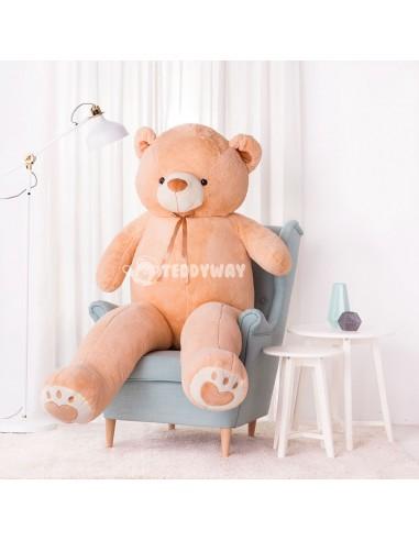 Light Beige Giant Teddy Bear 200 CM – 78 Inch – ToTo Giant Teddy Bears - Big Teddy Bears - Huge Stuffed Bears - Teddyway
