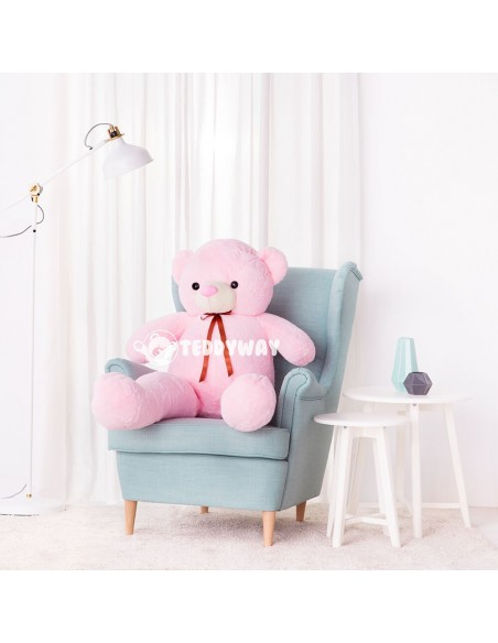 Pink Giant Teddy Bear 130 CM – 51 Inch – ToTo Giant Teddy Bears - Big Teddy Bears - Huge Stuffed Bears