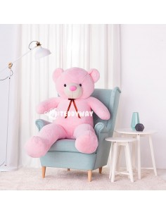Pink Giant Teddy Bear 160 CM – 63 Inch – ToTo Giant Teddy Bears - Big Teddy Bears - Huge Stuffed Bears