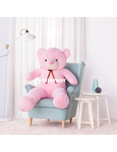 Pink Giant Teddy Bear 160 CM – 63 Inch – ToTo Giant Teddy Bears - Big Teddy Bears - Huge Stuffed Bears - Teddyway