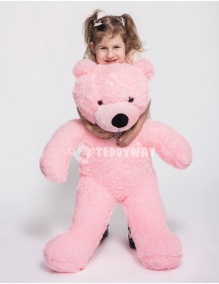 Pink Giant Teddy Bear 130 CM – 51 Inch – PoPo Giant Teddy Bears - Big Teddy Bears - Huge Stuffed Bears