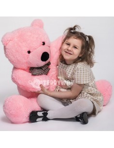 Pink Giant Teddy Bear 130 CM – 51 Inch – PoPo Giant Teddy Bears - Big Teddy Bears - Huge Stuffed Bears