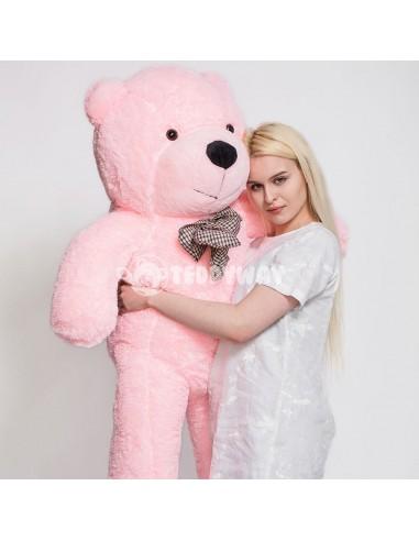Pink Giant Teddy Bear 160 CM – 63 Inch – PoPo Giant Teddy Bears - Big Teddy Bears - Huge Stuffed Bears - Teddyway
