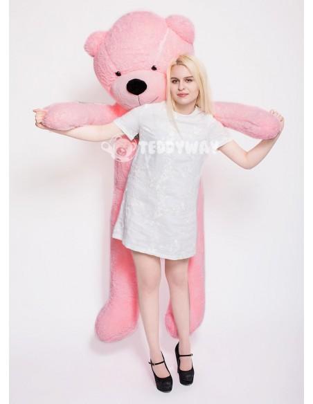 Pink Giant Teddy Bear 200 CM – 78 Inch – PoPo Giant Teddy Bears - Big Teddy Bears - Huge Stuffed Bears - Teddyway
