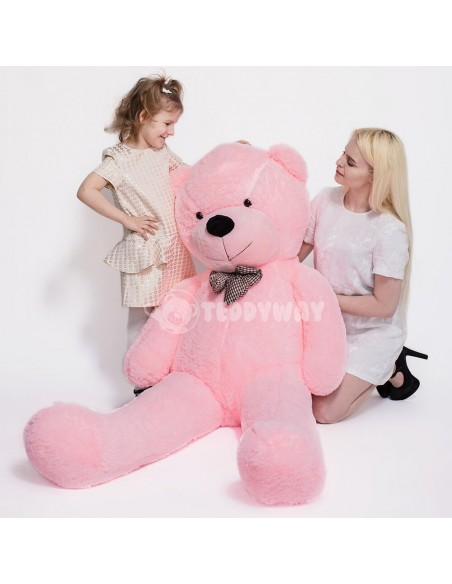 Pink Giant Teddy Bear 200 CM – 78 Inch – PoPo Giant Teddy Bears - Big Teddy Bears - Huge Stuffed Bears