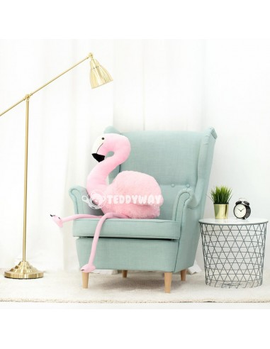 Pink Giant Plush Flamingo – 125 Cm – 49 Inch - FoFo Giant Stuffed Flamingos - Big Plush Flamingo - Huge Soft Flamingo Toy