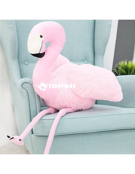 Pink Giant Plush Flamingo – 155 Cm – 61 Inch - FoFo Giant Stuffed Flamingos - Big Plush Flamingo - Huge Soft Flamingo Toy