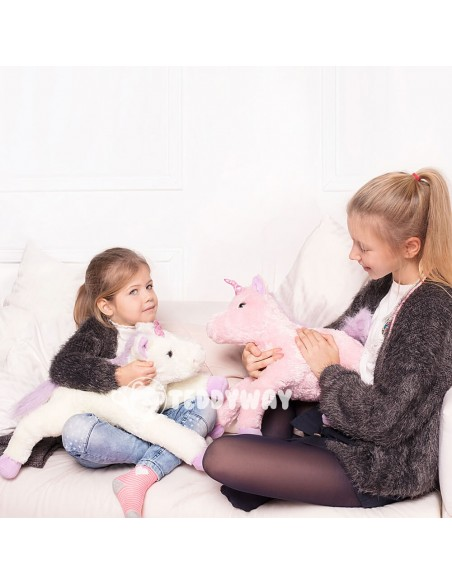 Pink Giant Plush Unicorn – 50 Cm – 19 Inch – SoSo Giant Stuffed Unicorns