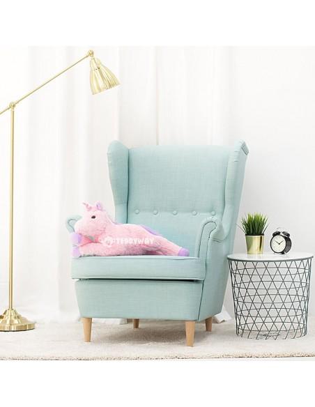 Pink Giant Plush Unicorn – 70 Cm – 27 Inch – SoSo Giant Stuffed Unicorns