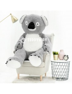 Giant Stuffed Koala Teddy Bear Toy 160 CM – 63 Inch – KoKo Giant Stuffed Koalas - Big Plush Koalas - Huge Soft Koalas Toys