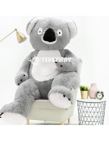 Giant Stuffed Koala Teddy Bear Toy 200 CM – 78 Inch – KoKo Giant Stuffed Koalas - Big Plush Koala Teddy Bear - Huge Soft Koal...