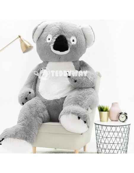 Giant Stuffed Koala Teddy Bear Toy 200 CM – 78 Inch – KoKo Giant Stuffed Koalas - Big Plush Koalas - Huge Soft Koalas Toys