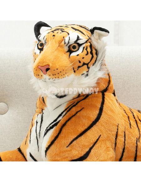 Giant Plush Tiger – 90 Cm – 35 Inch – TiGo Giant Stuffed Tigers - Big Plush Tigers - Huge Soft Tigers Toys