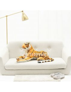 Giant Plush Tiger – 90 Cm – 35 Inch – TiGo Giant Stuffed Tigers - Big Plush Tigers - Huge Soft Tigers Toys