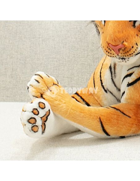Giant Plush Tiger – 120 Cm – 47 Inch – TiGo Giant Stuffed Tigers - Big Plush Tigers - Huge Soft Tigers Toys