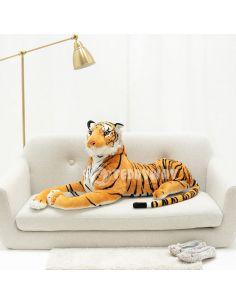 Giant Plush Tiger – 120 Cm – 47 Inch – TiGo Giant Stuffed Tigers - Big Plush Tigers - Huge Soft Tigers Toys