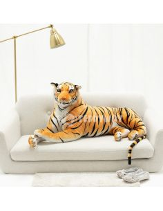 Giant Plush Tiger – 130 Cm – 51 Inch – TiGo Giant Stuffed Tigers - Big Plush Tigers - Huge Soft Tigers Toys