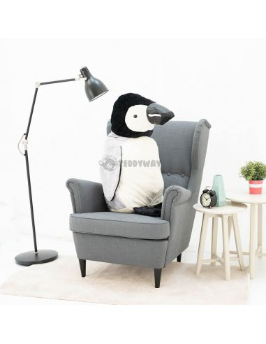 Giant Stuffed Penguin Toy 100 CM – 39 Inch – PiPi Giant Stuffed Penguins - Big Plush Penguins - Huge Soft Penguins Toys - Ted...