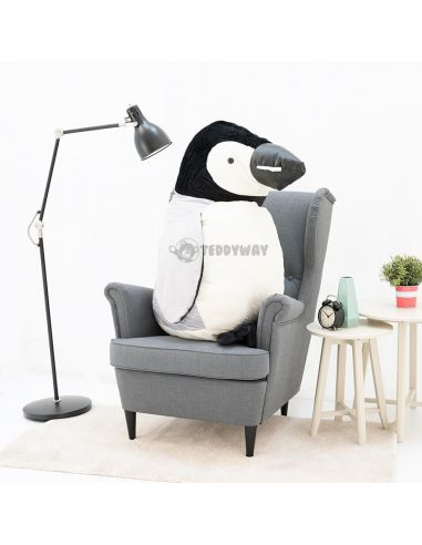 Giant Stuffed Penguin Toy 120 CM – 47 Inch – PiPi Giant Stuffed Penguins - Big Plush Penguins - Huge Soft Penguins Toys - Ted...