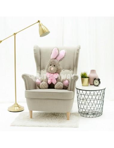 Grey Giant Stuffed Bunny Toy 70 CM – 27 Inch – Vuni Giant Stuffed Bunnies - Big Plush Bunny - Huge Soft Rabbits Toys - Teddyway