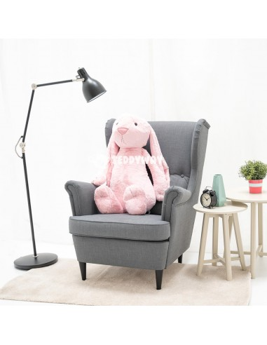 Pink Giant Stuffed Bunny Toy 100 CM – 39 Inch – Bani Giant Stuffed Bunnies - Big Plush Bunny - Huge Soft Rabbits Toys - Teddyway