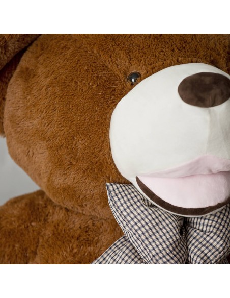 Dark Brown Giant Teddy Bear 130 CM – 51 Inch – BoBo Giant Teddy Bears - Big Teddy Bears - Huge Stuffed Bears